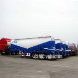 Quality Pneumatic air compressor cement bulker cement tank trailer pneumatic bulk tanker for sale