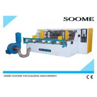 Electrical Corrugated Paperboard Slitting Machine Easy Operation High Efficiency Adopt Eight Rolls