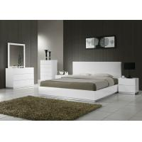 China Adult Wooden Bedroom Furniture Sets , Strong Structure 5 Piece Bedroom Set King  on sale