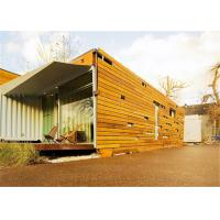 Quality Galvanized Accommodation Conex Box Homes Foldable Prefabricated for sale