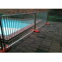 Quality Multi Function Temporary Pool Fencing Removable Pool Fence No Drilling  for sale