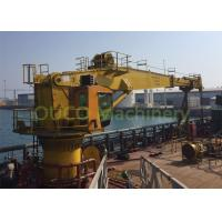 Quality Electrical Marine Deck Crane 30T With ABS Class And Advanced Components for sale