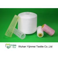 Quality 100% TFO Polyester Sewing Thread Dyeing Low Shrink And No Broken End for sale