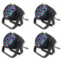 Quality Portable RGB AC 110v / 220V moving head led stage lights Cool White IP33 with voice controll for sale