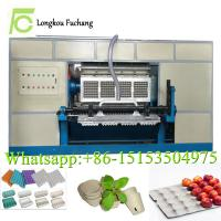 China 6000 pieces paper egg tray making machine/egg box forming machinery suppliers/seeds cup molding machine on sale