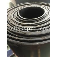 Textile fiber reinforced rubber sheeting roll High tensile strength and wear resistance