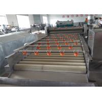 Quality Silver Fruit Washing Machine 1500 * 820 * 900mm Size Wear Resistance CY1000 Model for sale