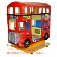 China Game Center Luxury Best London Bus Kiddie Rides For Sale in Pakistan market on sale