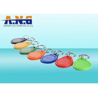 Buy cheap Portable HF Rfid Tags Rfid Key Fob For Access Control And Security from wholesalers