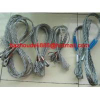 Cable stocking,  Cable grip,  Cable hauling