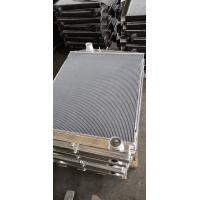 China Customized Aluminum finned tube heat exchanger for water cooler radiator on sale