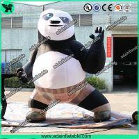 Quality Inflatable Kung Fu Panda Advertising Inflatable Cartoon for sale