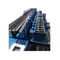 Buy cheap 15m / Min Cold-Rolled Steel Storage Rack Roll Forming Machine from wholesalers