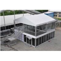 Quality Portable Double Decker PVC Tarpaulin Tent for Rental Business , Waterproof for sale