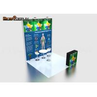 China 3*3M Modular Trade Show Booth Custom Portable Lightweight Event Display Stands on sale