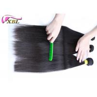 Portable Cambodian Straight Virgin Hair Extensions 1b Can Last 2 Years If Care Well Free Sample