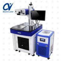 Quality CE FDA 1.5w high stability speedy efficiency UV laser marking machine for surface of metal nonmetal ultra fine marking for sale