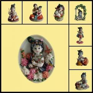 China Religious Statue/Hindu God Statue/Indian God/ Shri Krishna Leela on sale