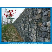 Quality Decorative Gabion Wire Mesh / Gabion Wall Fence For Protecting Dam for sale