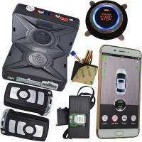 Quality Cell Phone Car Alarm Security System With Gps Location Sms Central Lock Start Stop Engine for sale