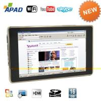 Buy cheap Pocket PC APAD Tablet PC 7 Inch Touch Screen(Google Android + WIFI) from wholesalers
