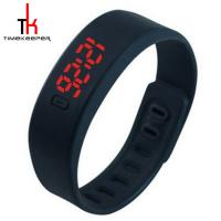 China Candy Color Digital Led Sports Watch Silicone Bracelet Watch Waterproof on sale