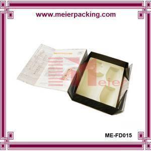 Quality Handmade Beautiful Design wine glass gift box ME-FD015 for sale
