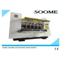 Quality Corrugated Thin Blade Slitter Scorer Machine Fast Changing Order Within 1 To 5 Seconds for sale
