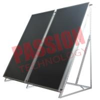China High Performance Blue Coating Aluminium Alloy Frame Flat Plate Thermal Solar Collector on sale