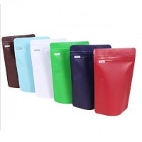 China plastic side gusset coffee bag flat bottom coffee beans bag flat bottom coffee bag with valve and zippernew products myl on sale