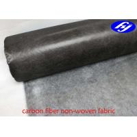 China Ultralight Carbon Fiber Fabric Non Woven Surface Carbon Fiber Mat For FRP Processes on sale