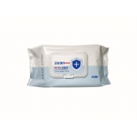 Quality Personalized Antibacterial Wet Wipes 99.9% Sterilization Rate Baby Sanitary Wipes for sale