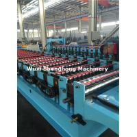 Quality Chain Driven Automatic Cold Roll Forming Machine With Cutting Device for sale