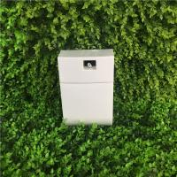 China Washroom Plastic Automatic Air Freshener Dispenser Machine With Timer And Inside Fan on sale