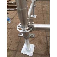 Galvanized Construction Frame Kwikstage Ringlock Cuplack scaffolding system for sale