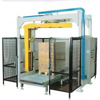 China Automatic pallet wrapping machine on sale