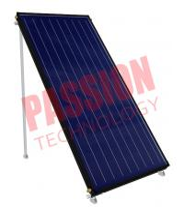 China Blue Film Absorber Coating Solar Flat Plate Collector Black Frame Color on sale