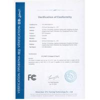 ETU-Link Technology Co., LTD. Certifications