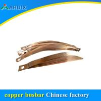 China Type telescopic conductive copper foil laminated bus bar flexible connector manufacturer on sale