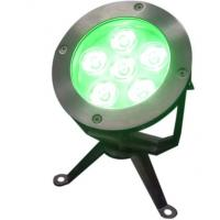 Quality IP68 DC 24V 6W / 9W / 12W CREE LED Swimming pool Light DMX512 RGB for Square waterscape for sale
