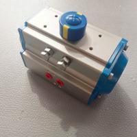 Quality AT Pneumatic Actuator Rack and Pinion Double Effect and Single Effect  Aluminum Actuator Ce Ex for sale