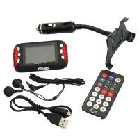Quality 4G 4GB 2.4 TFT LCD FM TRANSMITTER WITH MP3 MP4 MP5 PLAYER SD / MMC FOR CAR for sale
