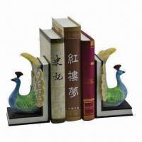 Quality Peacock Bookend, Made of Polyresin, Different Shapes and Styles are Available for sale