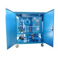 China Dust Proof Type Substation Field Use Vacuum Transformer Oil Purification Machine 6000 Liters/Hour on sale
