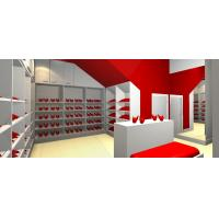 China In wall Cabinets for Display shoe case and Cloth wardrobe island counters made Formica laminate furniture with panels on sale