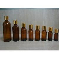 Quality 5ml, 10ml Cosmetic Amber Oil Glass Bottles With DIN 18mm Amber Drop For Chemical for sale