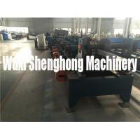 Quality Custom Made C / Z Purpline Cold Roll Forming Machine with 10 Rolling Stations for sale
