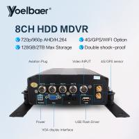 Quality High Stable 8ch DVR AHD 720P 4G GPS Tracking On Mobile Phone Computer APP for sale