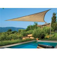 Quality HDPE Triangle Outdoor Sun Shade Sail Canopy For Carport And Pool for sale