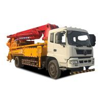 Quality Concrete Pumping & mixing truck 30m max placing reach pump truck with mixer machine for sale